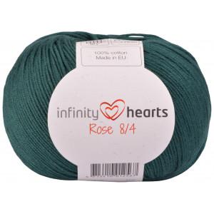Infinity Hearts Rose 8/4 Garn Unicolor 241 Petrol Grøn