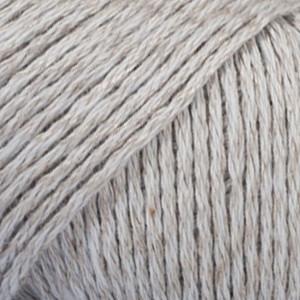 Garnstudio - drops – Drops bomull-lin garn unicolor 15 lys grå fra rito.dk