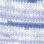 Järbo Bambu Raggi Garn 17211 Klar Blå print