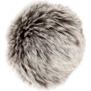 Rico Pompon Kvast Akryl Mix Grå/Sølv 10 cm