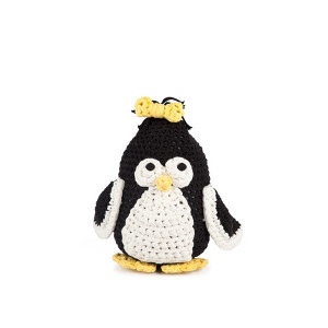 Hoooked Maxigurumi Hæklekit Pingvinen Coco