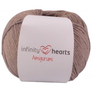 Infinity Hearts Amigurumi Garn 09 Lysebrun