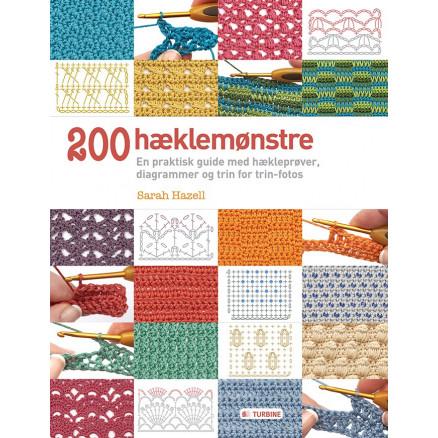 Image of   200 hæklemønstre - Bog af Sarah Hazell
