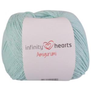 Infinity Hearts Amigurumi Garn 15 Mintgrøn