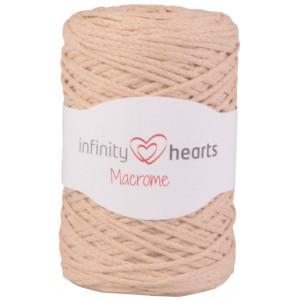 Infinity Hearts Macrome Garn 08 Beige