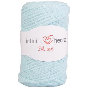 Infinity Hearts 2XLace Garn 15 Lys Mint