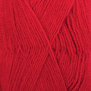 Drops Alpaca Garn Unicolor 3620 Rød