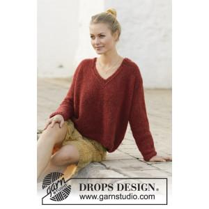 Robin Song by DROPS Design - Bluse Strikkeopskrift str. S - XXXL
