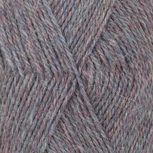 Drops alpaca garn mix 8120 jeansgrøn fra Garnstudio - drops fra rito.dk