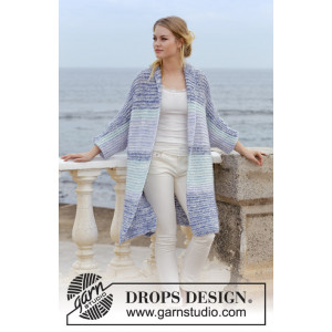 La Mare by DROPS Design - Jakke Strikkeopskrift str. S - XXXL