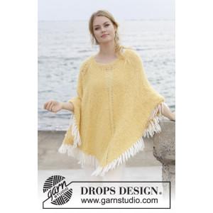 Soldansby DROPS Design - Poncho Strikkeopskrift str. S - XXXL