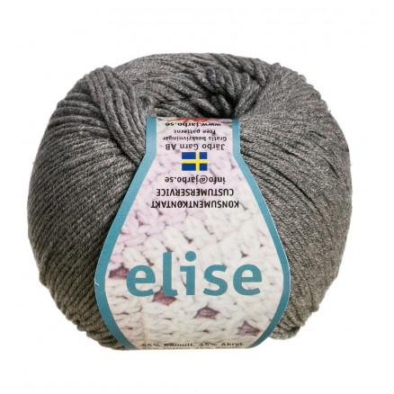 Järbo Elise Garn Unicolor 69219 Grå thumbnail