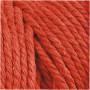 Knyttegarn, L: 100 m, tykkelse 2 mm, orange, Tyk kvalitet 12/36, 225g