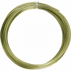 Bonzaitråd / Alu wire Grøn 2mm 10m