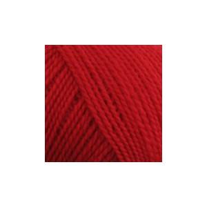 BC Garn Semilla Fino Unicolor ox124 Rød