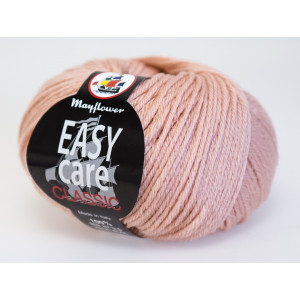 Mayflower Easy Care Classic Garn Unicolor 283 Lys Rosa