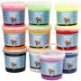 Foam Clay®, ass. farver, 10x10spande