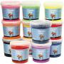Foam Clay®, ass. farver, spande, 12x560g