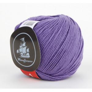 Mayflower Cotton 1 Garn Unicolor 125 Lilla