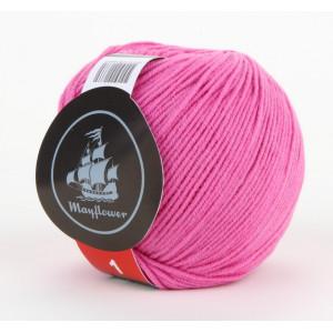 Mayflower Cotton 1 Garn Unicolor 126 Pink