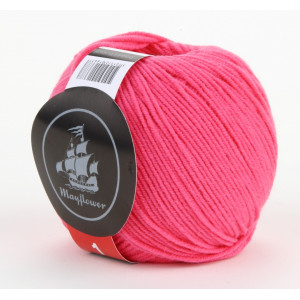 Mayflower Cotton 1 Garn Unicolor 127 Cerise