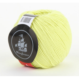 Mayflower Cotton 1 Garn Unicolor 128 Lime