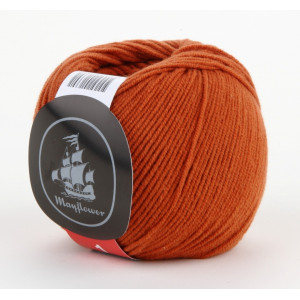 Mayflower Cotton 1 Garn Unicolor 129 Rust