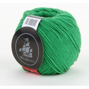 Mayflower Cotton 1 Garn Unicolor 132 Grøn