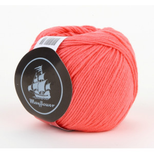 Mayflower Cotton 1 Garn Unicolor 134 Koral