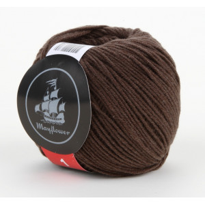 Mayflower Cotton 1 Garn Unicolor 136 Brun