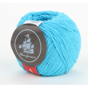 Mayflower Cotton 1 Garn Unicolor 137 Turkis