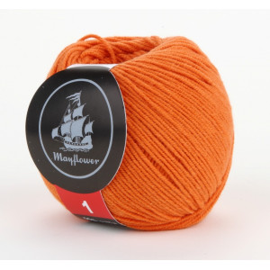 Mayflower Cotton 1 Garn Unicolor 146 Orange