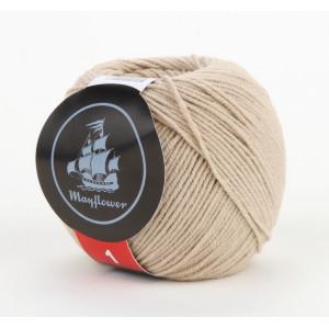 Mayflower Cotton 1 Garn Unicolor 147 Beige
