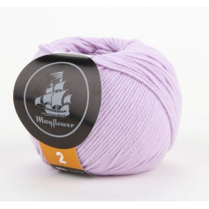 Mayflower Cotton 2 Garn Unicolor 224 Syren