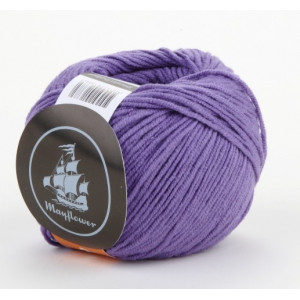 Mayflower Cotton 2 Garn Unicolor 225 Lilla