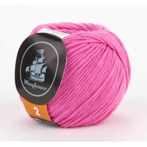 Mayflower Cotton 2 Garn Unicolor 226 Pink