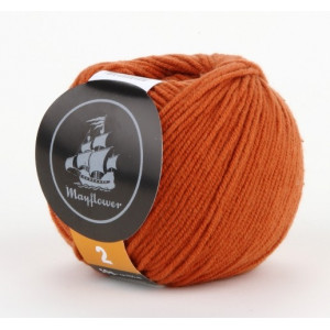 Mayflower Cotton 2 Garn Unicolor 229 Rust