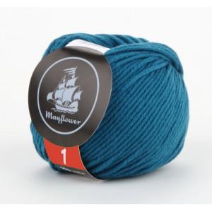 Mayflower Cotton 1 Garn Unicolor 138 Petrol