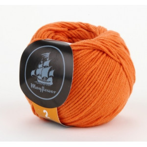 Mayflower Cotton 2 Garn Unicolor 246 Orange