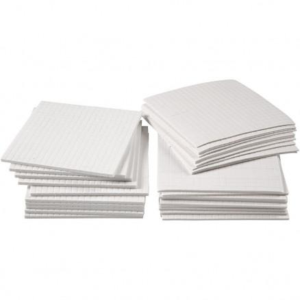 3D klæbepuder, str. 5x5 mm, tykkelse 1-2-3 mm, 30ass. ark thumbnail