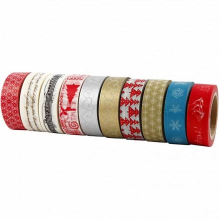 Masking Tape , B: 15 mm, jul, 10x10m thumbnail