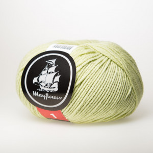 Mayflower Cotton 1 Garn Unicolor 148 Pistacie