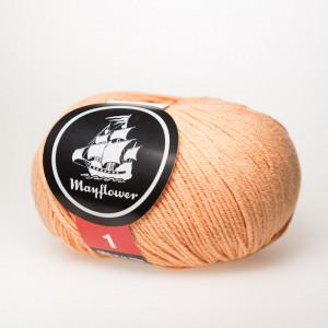Mayflower Cotton 1 Garn Unicolor 151 Fersken