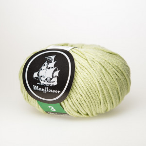 Mayflower Cotton 3 Garn Unicolor 348 Pistacie