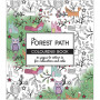 Mindfulness Malebog The Forest Path 19,5x23 cm - 64 sider