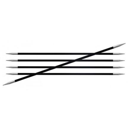 Knitpro Karbonz Strømpepinde Kulfiber 20cm 6,00mm / Us10