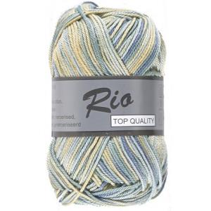 Lammy Lammy rio garn print 625 beige/grøn/blå 50 gram på rito.dk