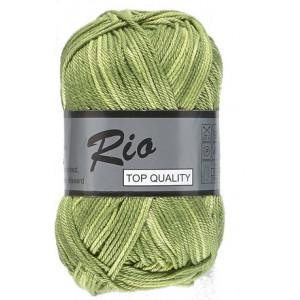 Lammy Lammy rio garn print 627 gul/grøn 50 gram fra rito.dk