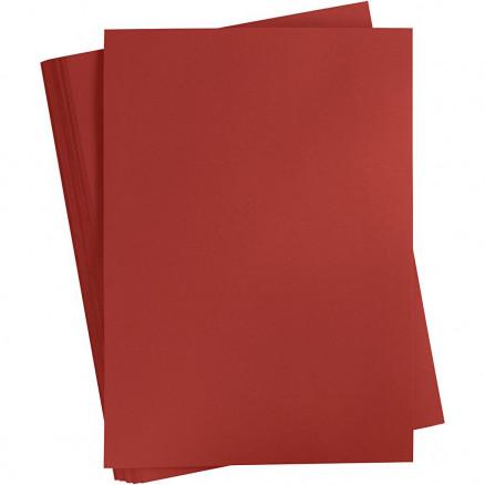 Karton, A2 420x600 mm, 180 g, bordeaux, 100ark thumbnail
