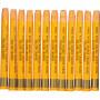 Gallery Akvarelkridt, tykkelse 8 mm, L: 9,3 cm, gul orange (308), 12stk.